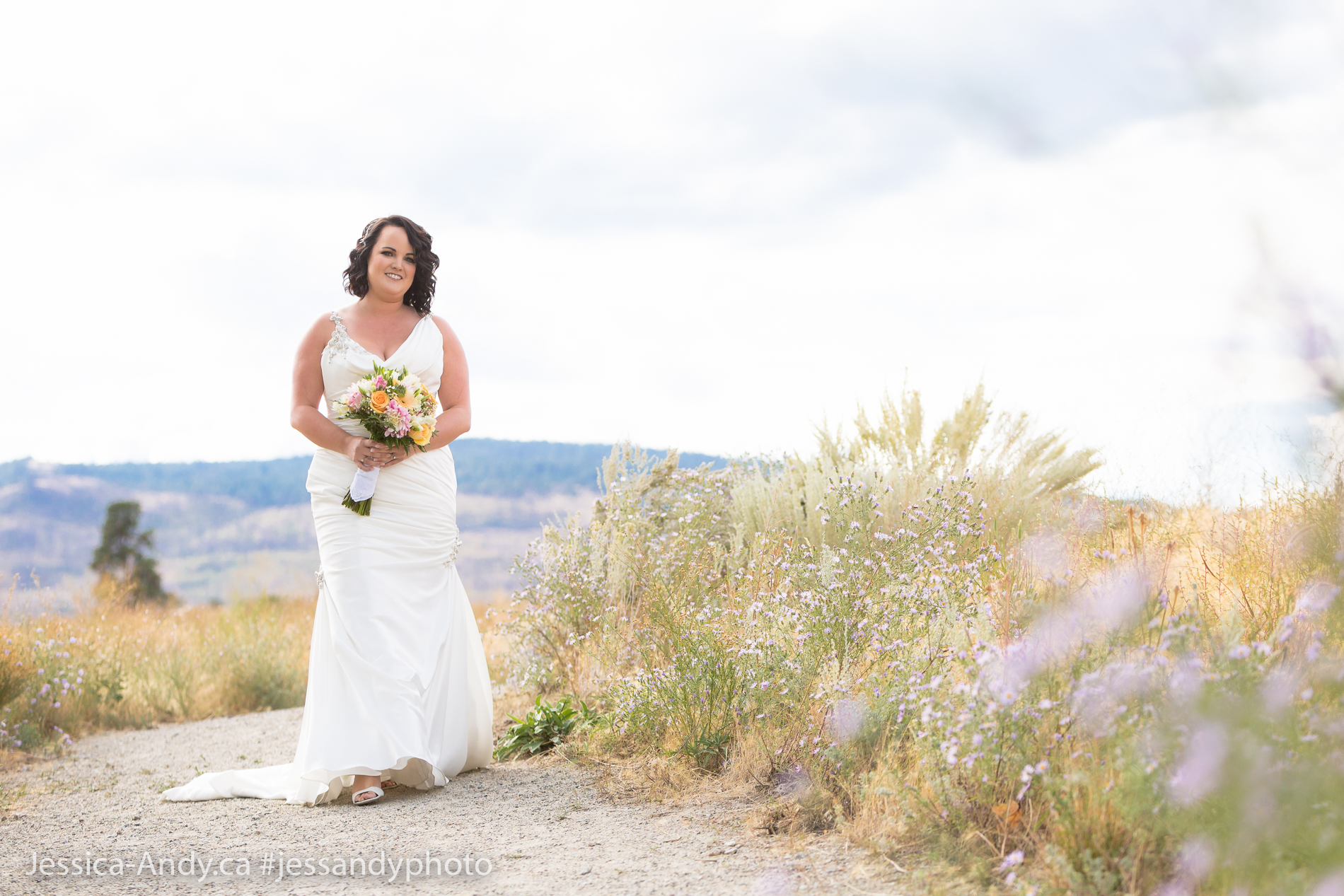 Kelowna Wedding - Bridal Walk