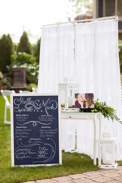 Wedding Welcome Station