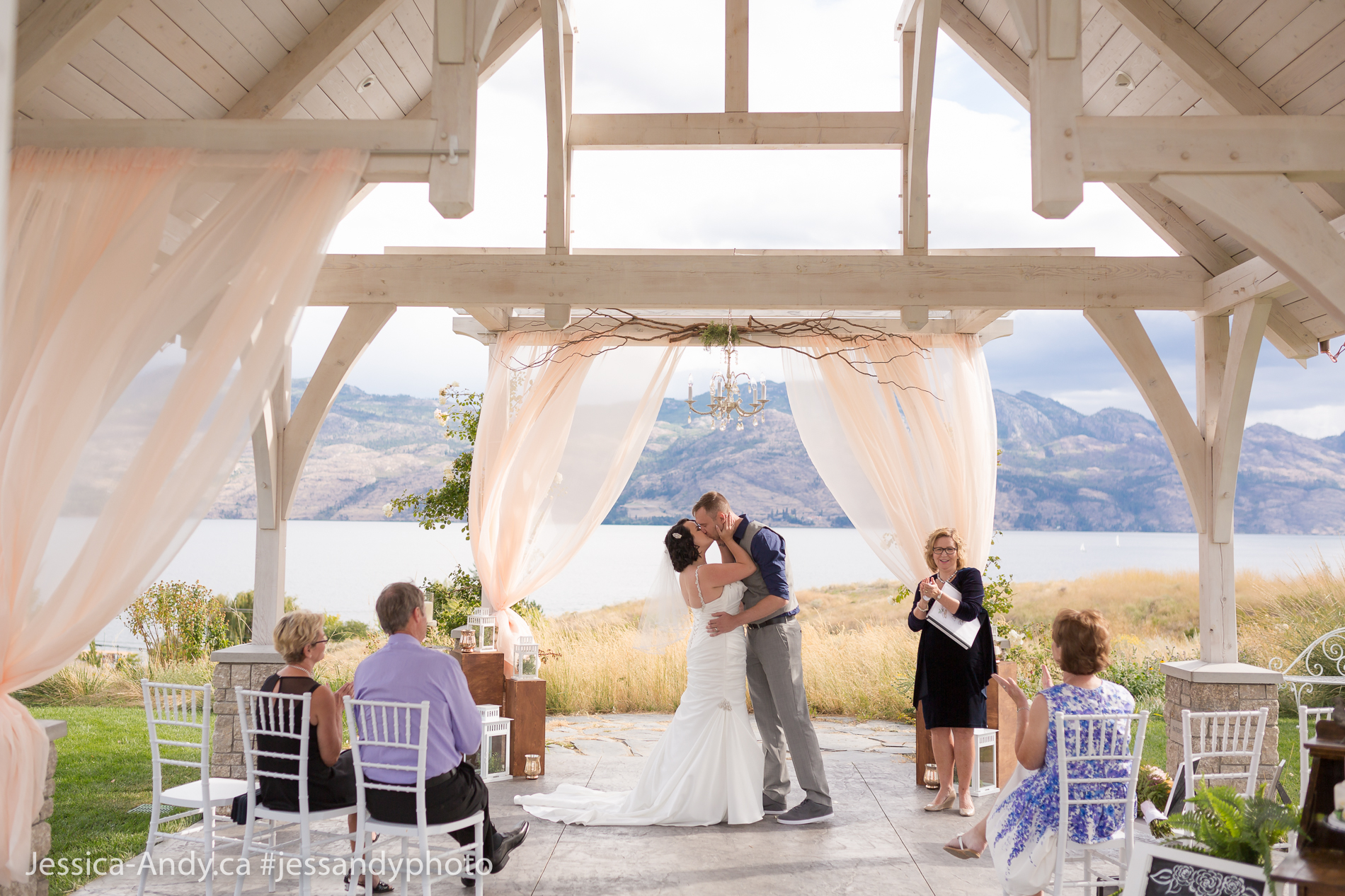 The Kiss - Wedding Ceremony