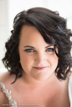 Kelowna Wedding - Bride
