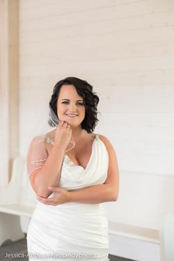 Bride - Kelowna Wedding