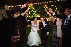 Wedding Send Off - Sparklers
