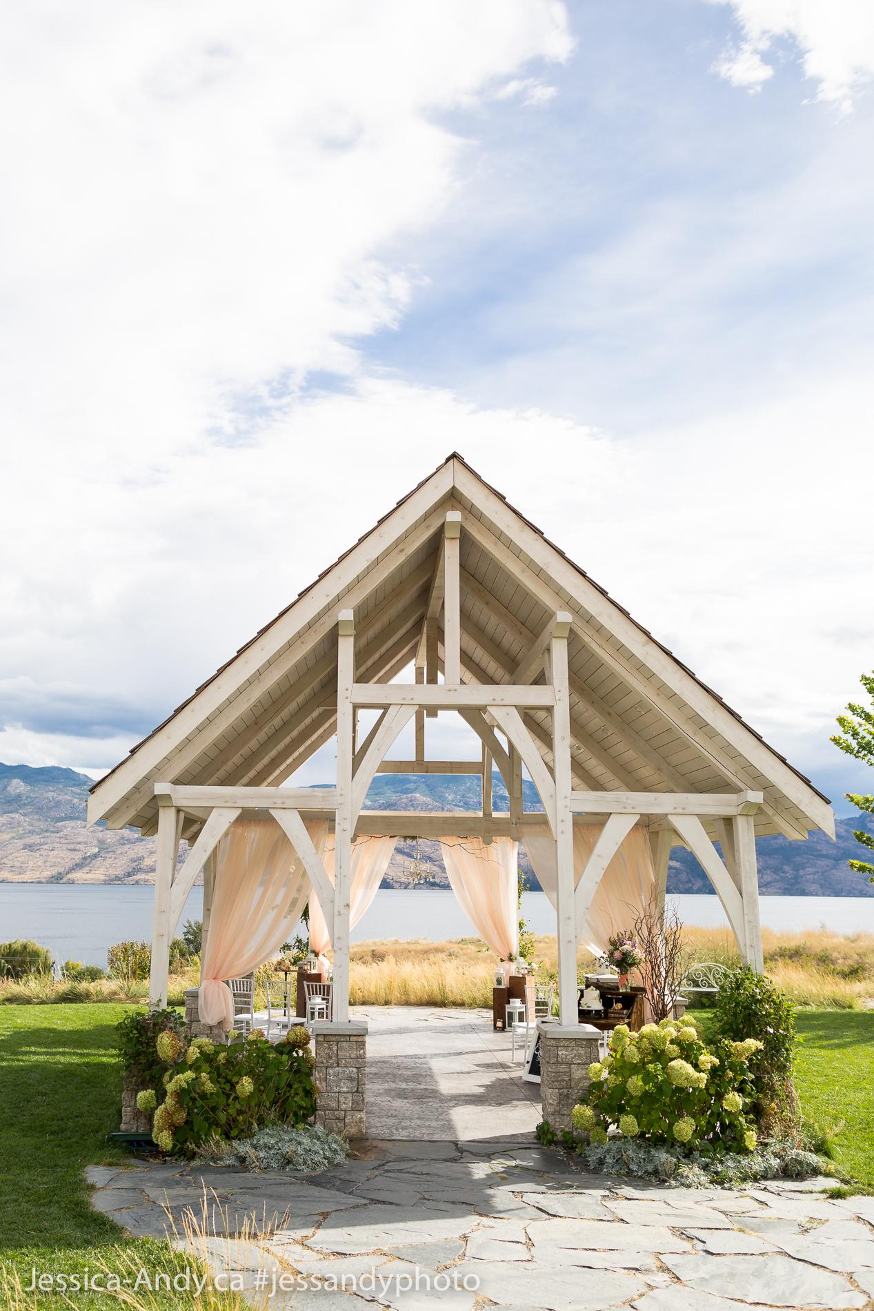 Kelowna Wedding - Sanctuary Gardens