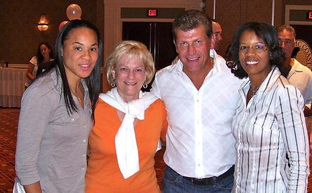 UVA Family (Dawn Staley [SC], Debbie Rya