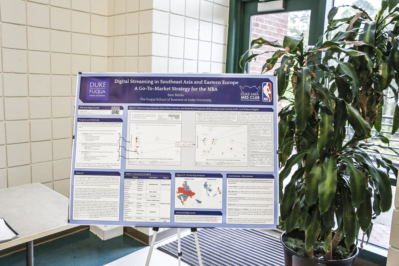 Sam Marks, Poster Presentation