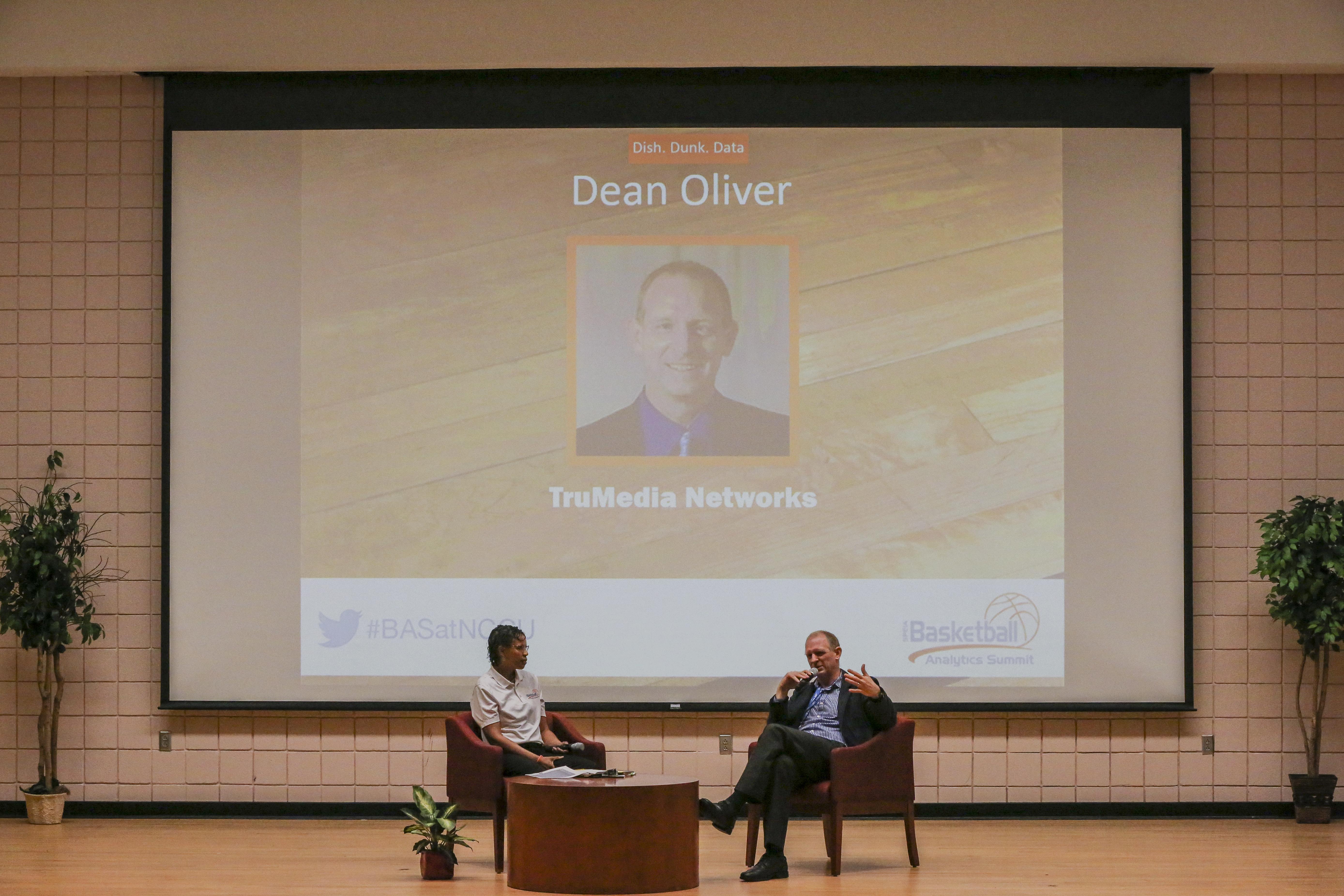 Dr. Dean Oliver and Dr. Stroman