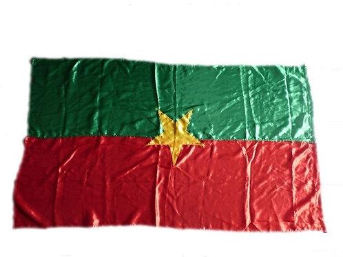 Grand drapeau du Burkina Faso