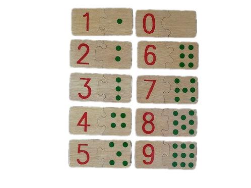 Chiffres et Dominos à assembler