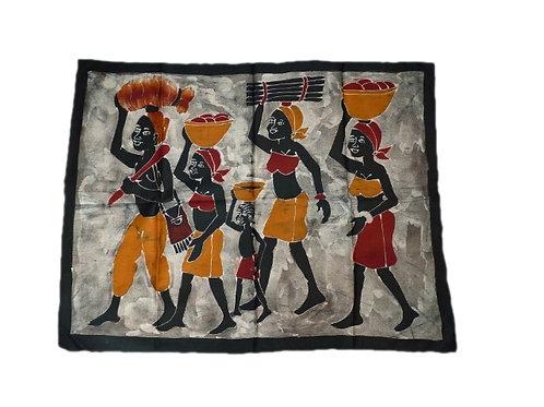 Batik rectangulaire