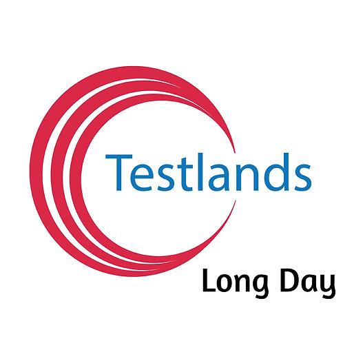 Monday 26th October - Long Day Testlands Hub
