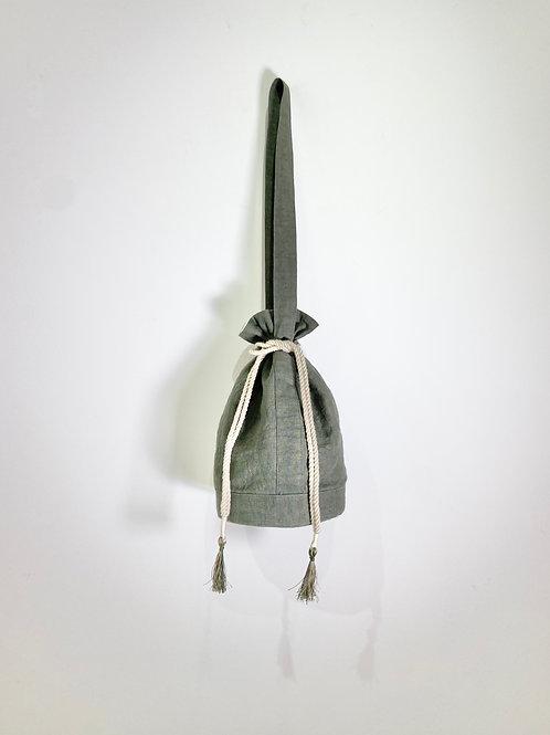 linen tassel Bag