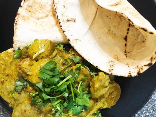 Jamaican(ish) Chicken Curry & Roti