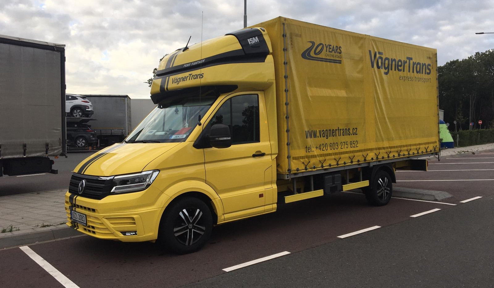 VW Crafter VagnerTrans