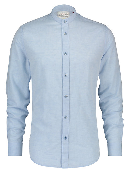A Fish Named Fred pánská košile stojáček modrá