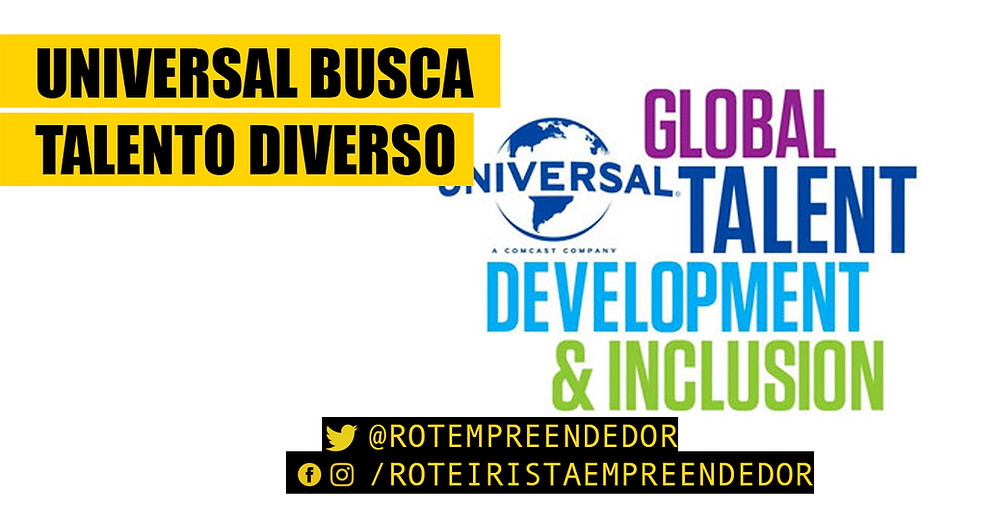 Universal Global Talent Development & Inclusion - Roteirista Empreendedor