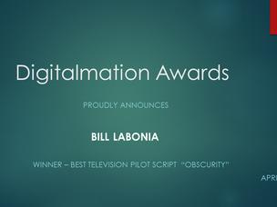 Premio de melhor piloto de tv vai para Obscurity!