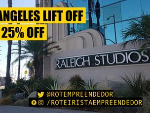 Los Angeles Lift Off com 25% de Desconto! Só hoje!