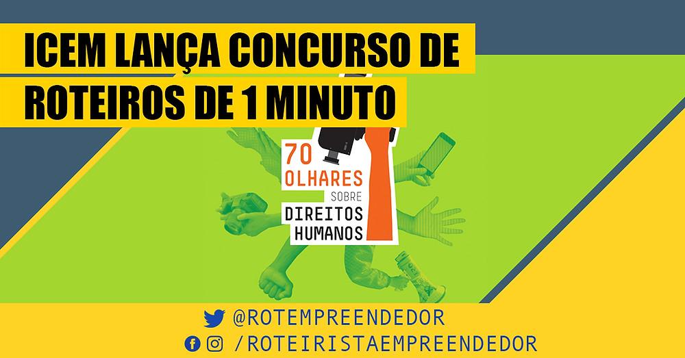 ICEM lança concurso de roteiro de 1 minuto - Roteirista Empreendedor
