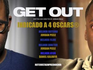 Jordan Peele é indicado ao Oscar de Roteiro, Filme e Diretor.