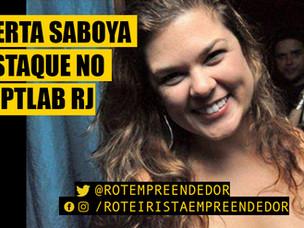 Roteirista Roberta Saboya é destaque no Laboratório de Roteiro de Séries no Rio.
