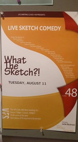 Sketch Show - Roteiros de sketchs de comédia.
