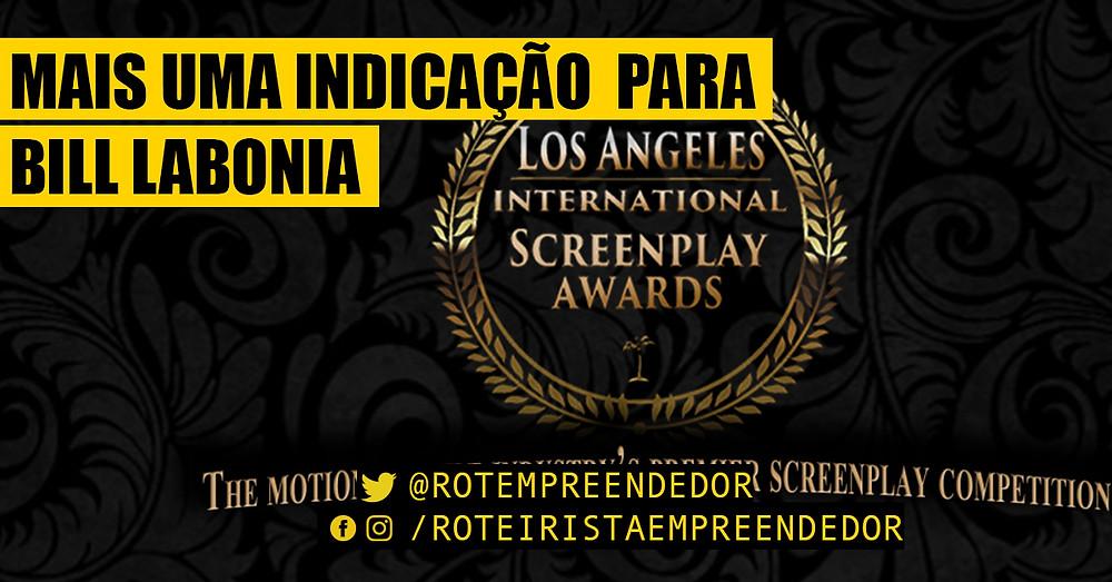 Los Angeles International Sceenplay Awards indica Bill Labonia como semi-finalista