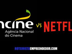 Ancine estuda impor cota de programação brasileira para a Netflix.