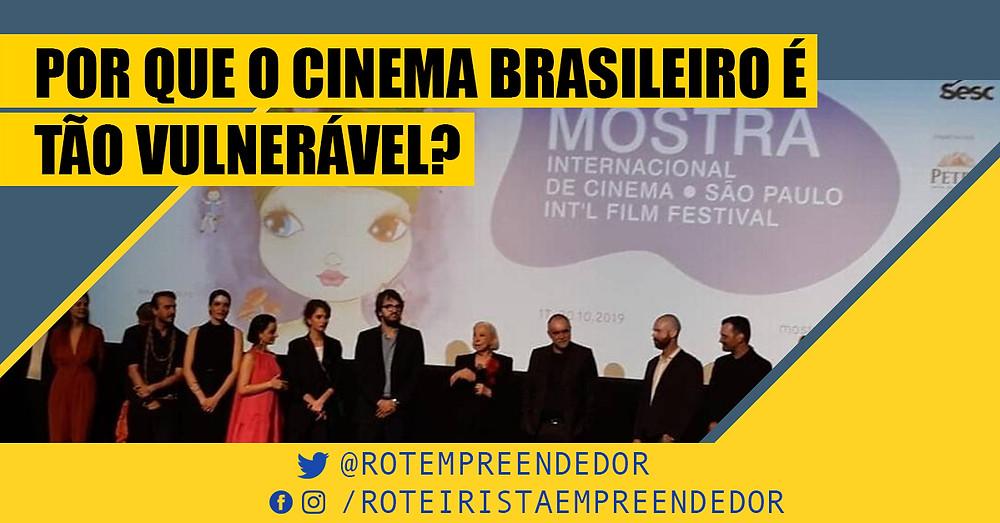Dependência da Ancine gera fraqueza no cinema brasileiro - roteirista empreendedor