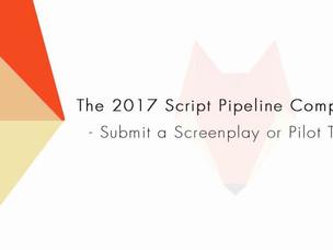 Script Pipeline tem inscrições abertas até 1 de maio e prêmio de 25 mil dólares.