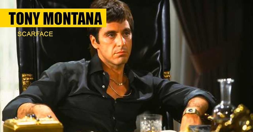 2. Tony Montana - Scarface