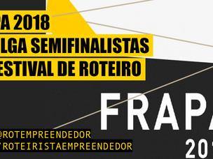 FRAPA 2018 Define os Semifinalistas