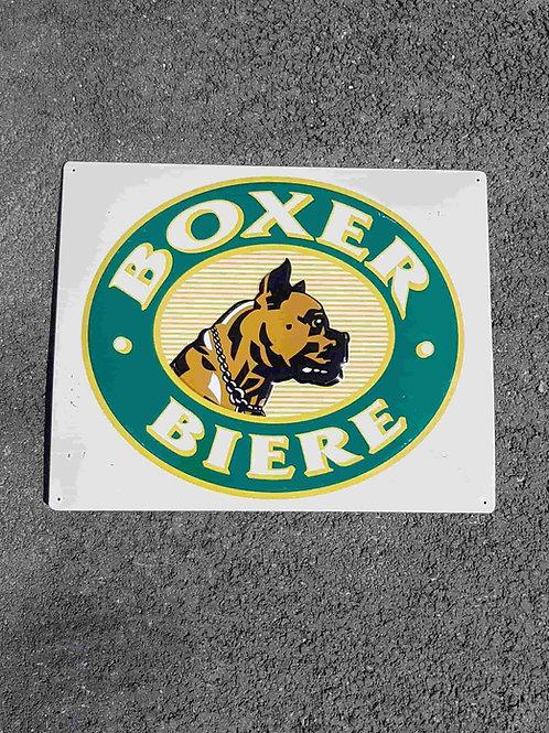 Plaque bière Boxer