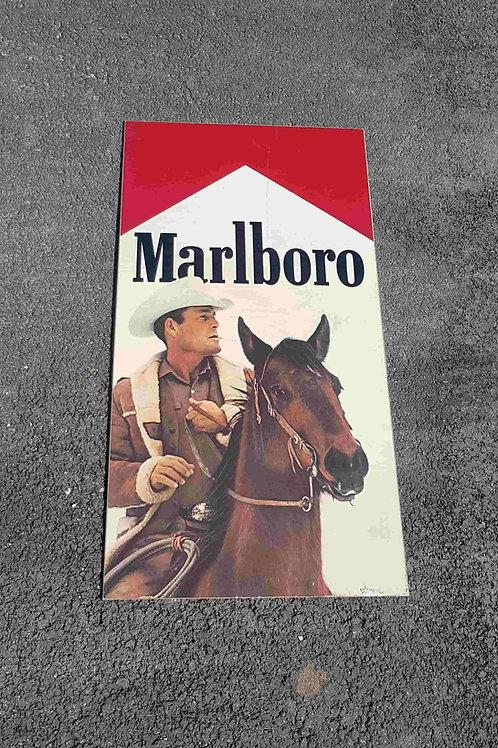 Plaque Cowboy Marlboro