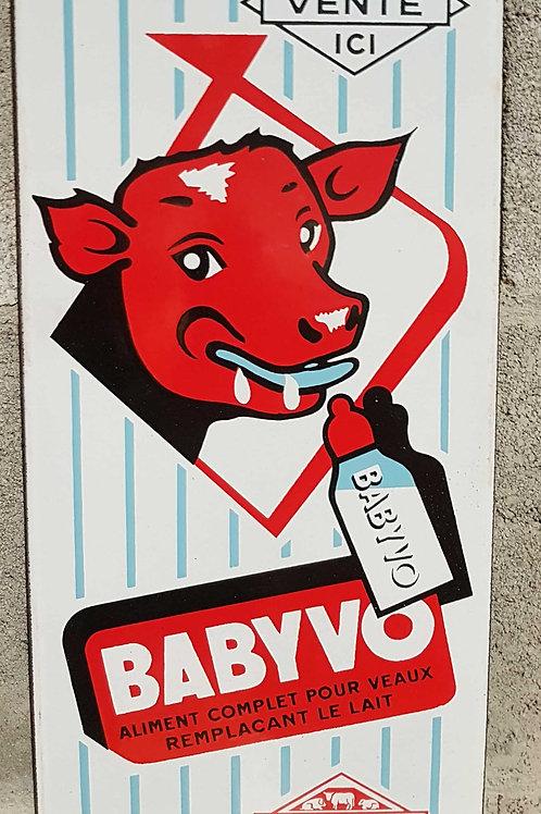 Plaque émaillée Babyvo