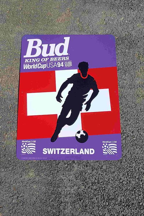 Plaque Bud Coupe du Monde Football