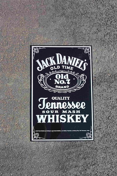 Plaque estampée Jack Daniel's