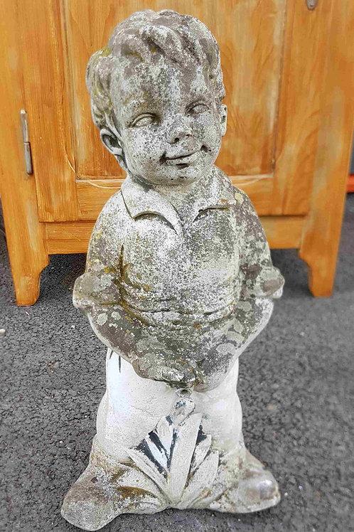 Sculpture fontaine enfant