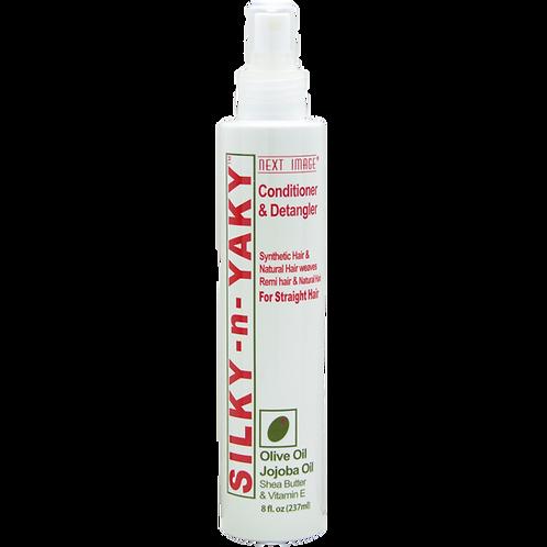 Silky-N-Yaki Conditioner & Detangler - Olive Oil & Jojoba Oil