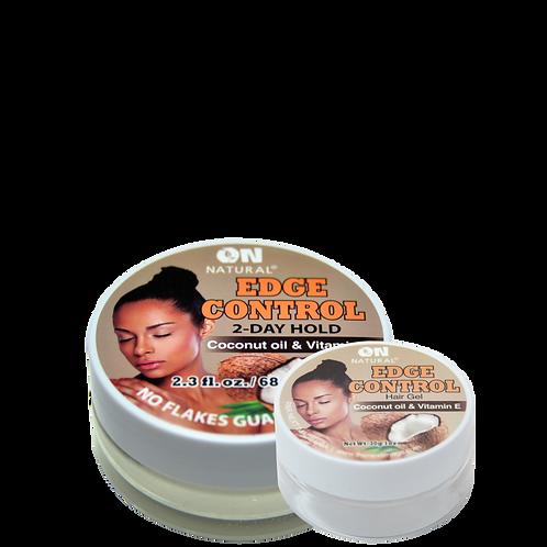 Edge Control Hair Gel - Coconut Oil & Vitamin E