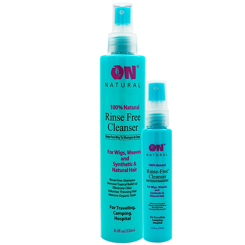 Rinse Free Cleanser - Water Free Shampoo