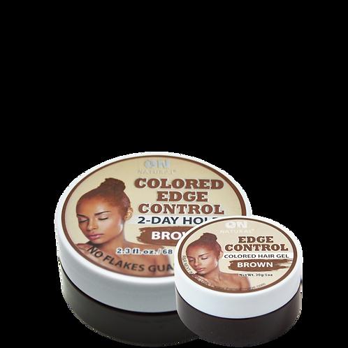 Edge Control Colored Hair Gel - Brown