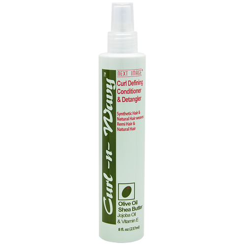 Curl-N-Wavy Curl Defining Conditioner & Detangler - Olive Oil & Jojoba Oil