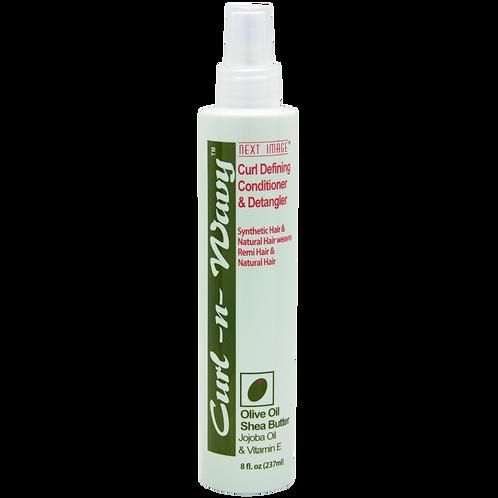 Curl-N-Wavy Curl Defining Conditioner & Detangler - Olive Oil & Jojoba Oil