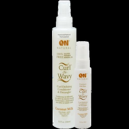 Curl-N-Wavy Curl Defining Conditioner & Detangler - Coconut Milk
