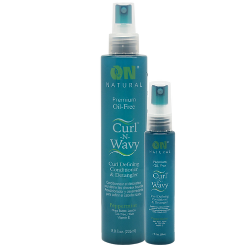 Curl-N-Wavy Curl Defining Conditioner & Detangler - Peppermint
