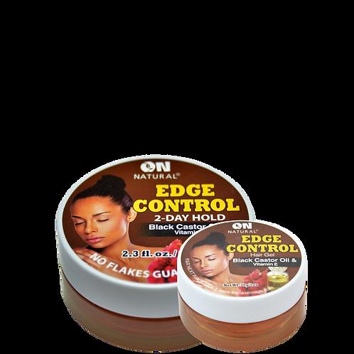 Edge Control Hair Gel - Black Castor Oil & Vitamin E