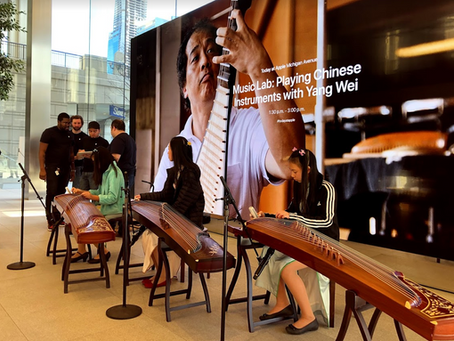 Today-At-Apple Event at the Downtown Chicago Michigan Avenue Apple Store