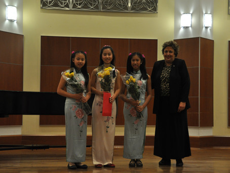 The 33rd MFHC Winners Concert, sponsored by the Chinese Fine Arts Society