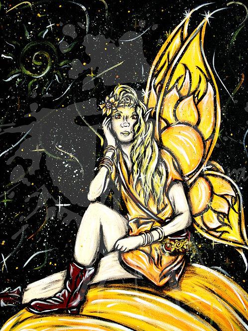 """""""Sun Fairy"""" PRINT"""