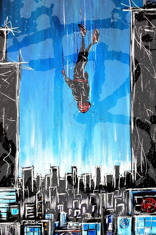 """""""A Falling Spider"""" PRINT"""